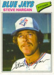 1977 Topps Baseball Cards      037      Steve Hargan